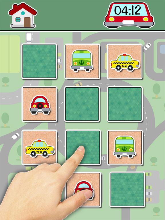 Автомобили найти пар обучающей игру Скриншоты7