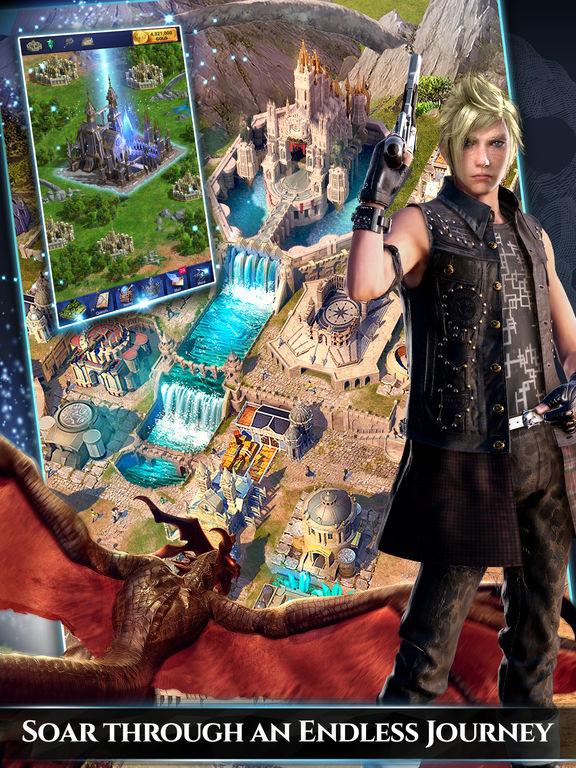 Final Fantasy XV: A New Empire Screenshots