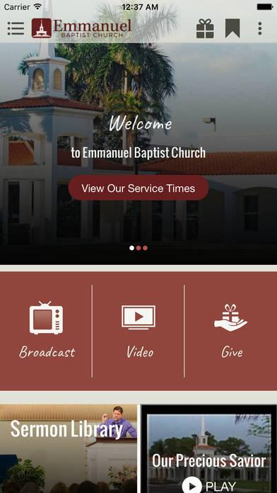 Screenshot #4 for Emmanuel Baptist Church, Coconut Creek FL