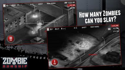 Screenshot #10 for Zombie Gunship: Gun Down Zombies