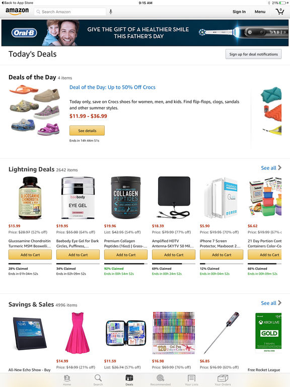 Amazon Mobile screenshot 7
