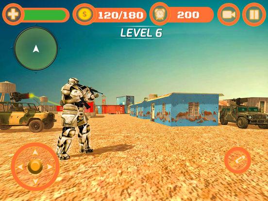 Superhero WAR: Army Counter Terrorist Attack screenshot 8