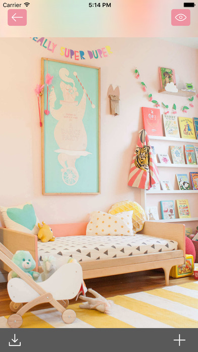 Kids room interior home design ideas for kids app for Room design app