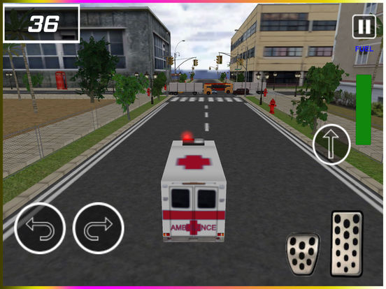 Flying Ambulance Rescue Simulator pro screenshot 5