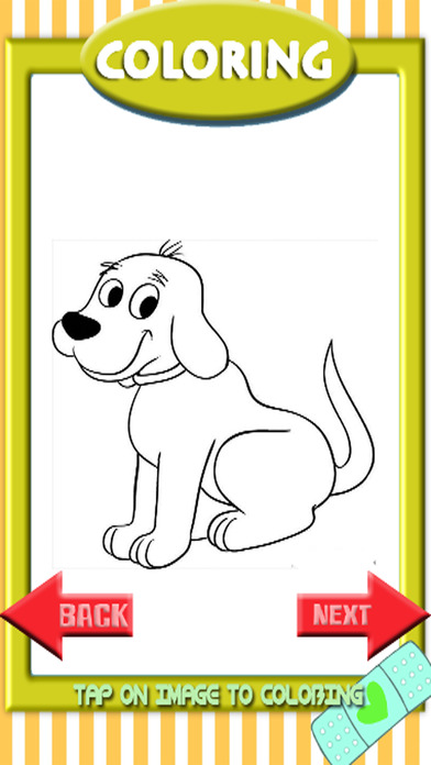Dog Coloring Drawing Pages For Kids Education App Download