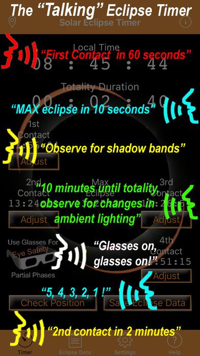 Solar Eclipse Timer screenshot 2
