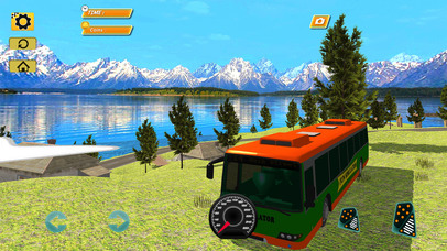 Bus Simulator : Extreme Offroad Drive screenshot 1