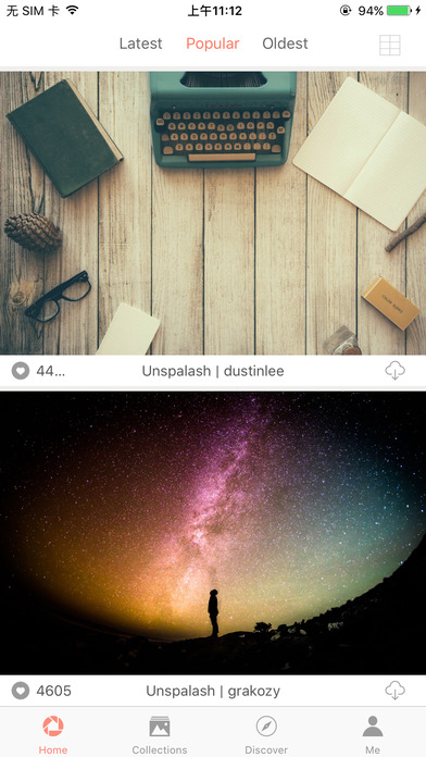 WallSquarePro - View photos and make Wallpapers. Screenshots