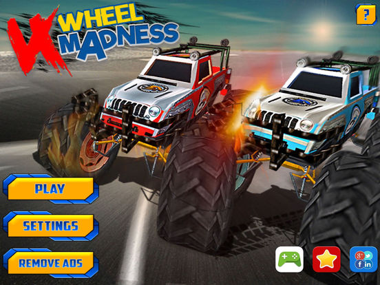 Play 4 Wheel Madness Game Here - A Truck Game on