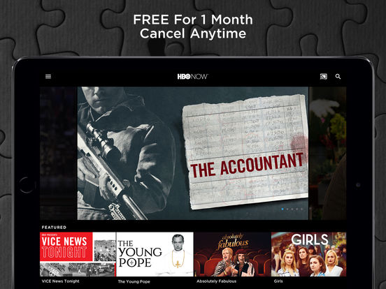 HBO NOW: Stream original series, hit movies & more iPad