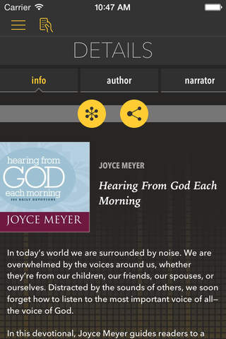Hearing From God [by Joyce Meyer] screenshot 1