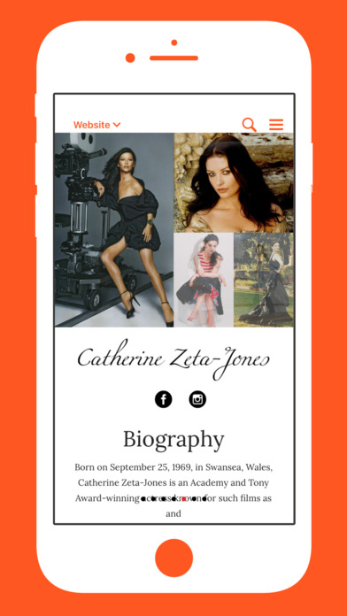 The IAm Catherine Zeta-Jones App screenshot 4