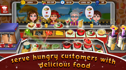 Street Food Cooking Chef Story screenshot 1
