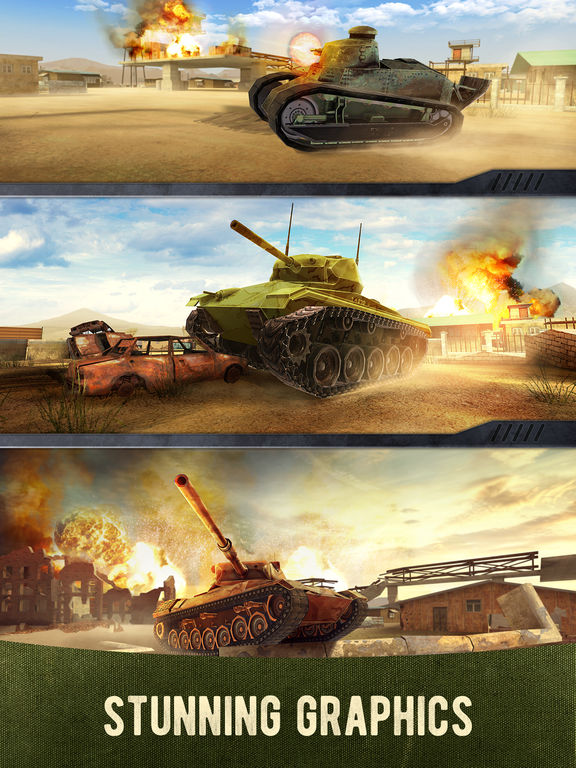 War Machines: 3D Multiplayer Tank Shooting Gamescreeshot 4
