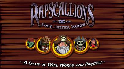 Rapscallions: Four Letter Words - Adult screenshot 1