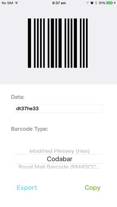 barcode generator mobile