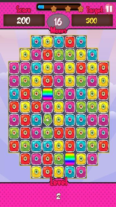 Monster Candy Match screenshot 2