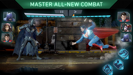 Injustice 2 para iOS y Android