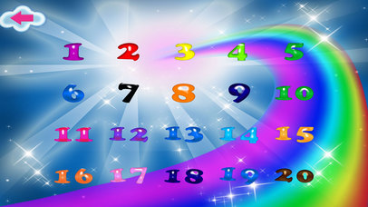 Numbers Memory Flash Cards Game screenshot 2