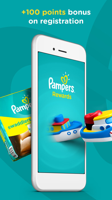 Screenshots of Pampers Rewards: Parents Club for iPhone
