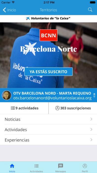 """Voluntarios de """"la Caixa"""" screenshot"""