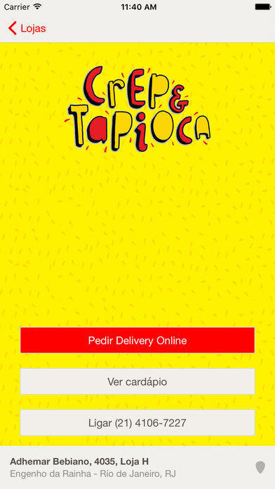 Crep& Tapioca screenshot 2