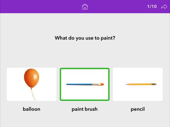 Screenshot #2 for Wh Questions by Teach Speech Apps
