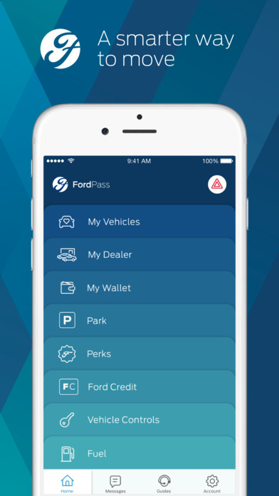 Ford Sync Iphone >> FordPass-Find Parking, Dealers, Ford Guides & More on the App Store