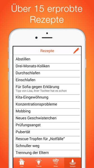 Bachblüten für Kinder PRO | Homöopathie Screenshots