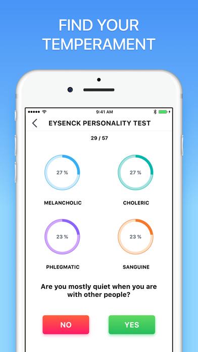 Mood Tracking - Personality Test Pro Screenshot 3