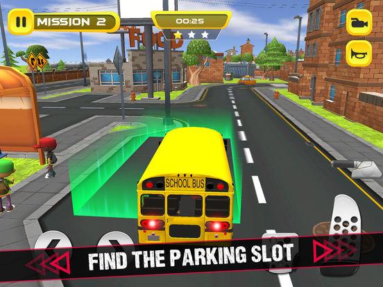 School Bus 3D Game screenshot 8