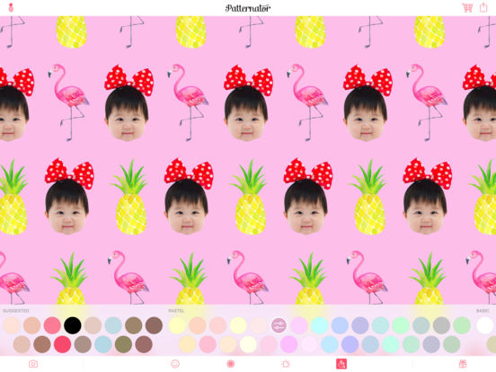 Screenshot #2 for Patternator Animated Wallpapers and Pattern Maker