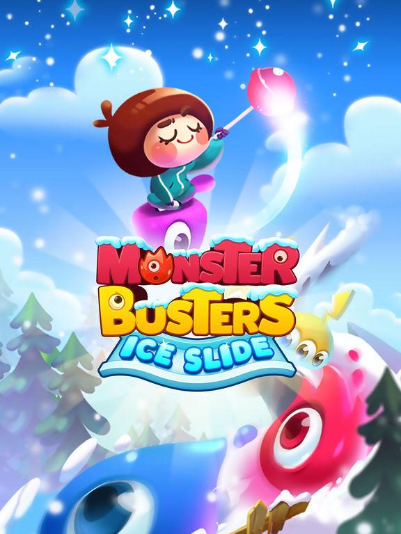 Monster Busters: Ice Slide screenshot 10