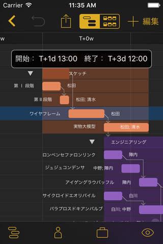 OmniPlan 3 screenshot 2
