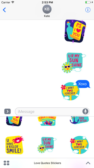 love quotes stickers on the app store