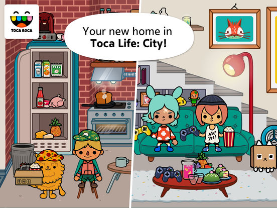 Screenshots of Toca Life: City for iPad