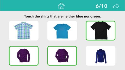 Following Directions by Teach Speech Apps Screenshots