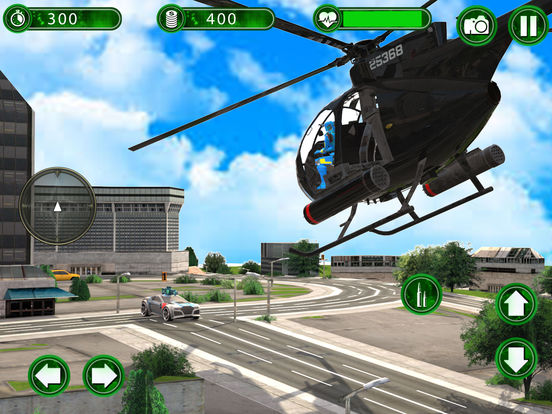 Super Helicopter Robot Hero screenshot 9