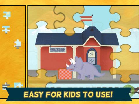 Скачать Игры про динозавров для детей: пазл