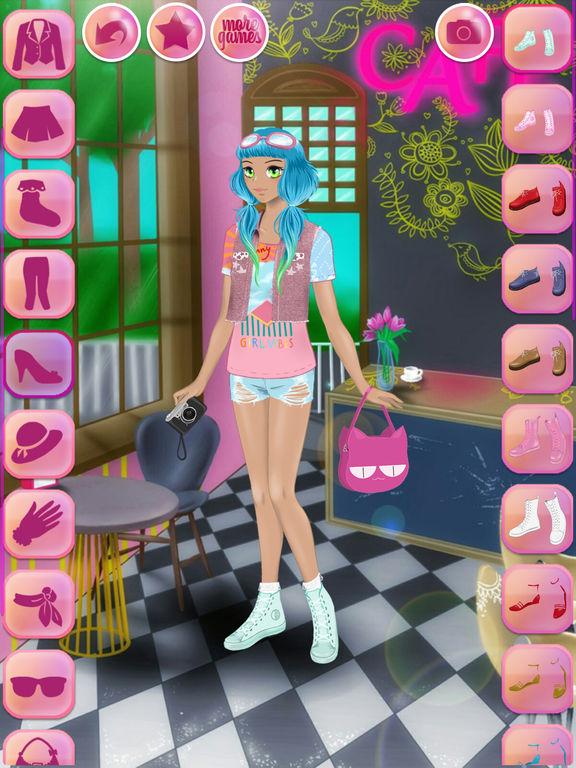 App Shopper: Cute Anime Dress Up - games for girls (Games)