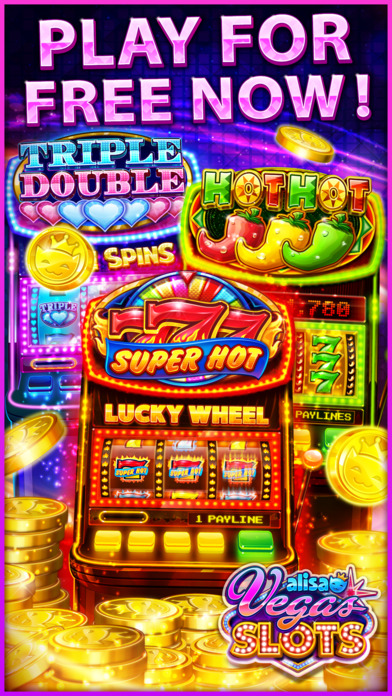 Screenshot 5 VEGAS SLOTS by Alisa – Fun Vegas Free Casino Games