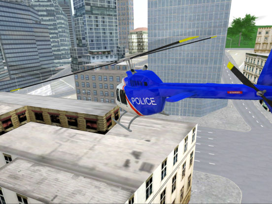 Police Helicopter Simulator: City Flying screenshot 8
