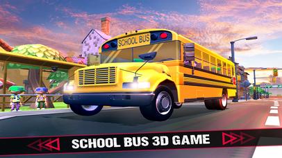 School Bus 3D Game screenshot 1