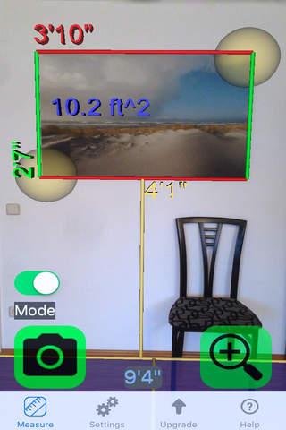 Ruler Camera - Tape Measure 3D screenshot 2