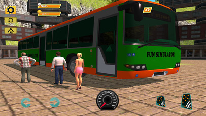 Bus Simulator : Extreme Offroad Drive screenshot 4