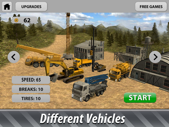 Offroad Construction Trucks Full screenshot 8