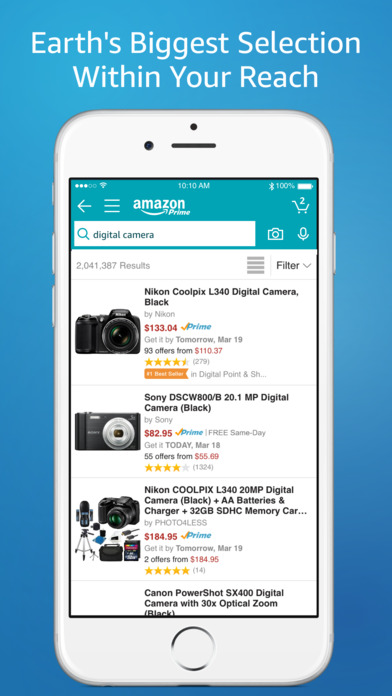 Amazon Mobile screenshot 1