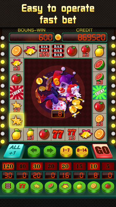 Screenshot 1 Fruit Slots: classic puzzle games