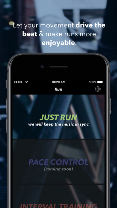 Weav Run: Adaptive Running Music