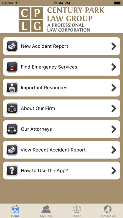 Century Park Law Group Injury Help screenshot 2